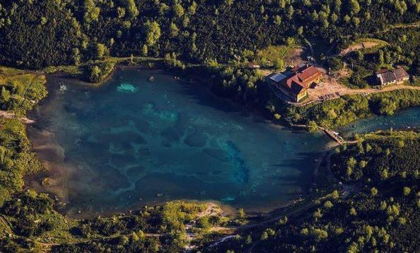 озеро-словакия-природа-лес