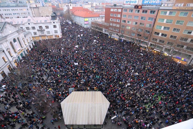 Протест-Братислава-Куцьяк-убийство