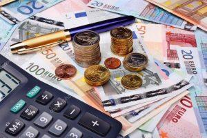 деньги-евро-купюры-монеты-сумма-зарплата