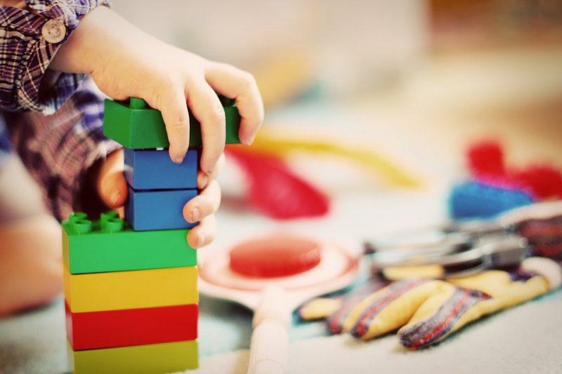 детский сад дети игрушки