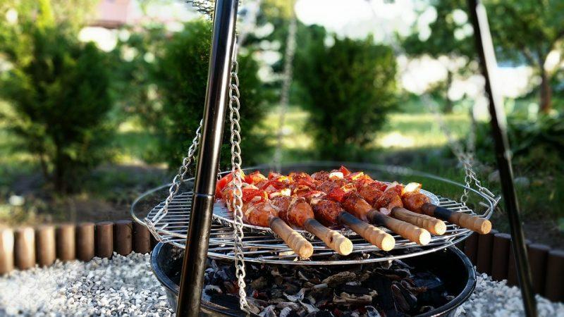 гриль-мясо-колбаски