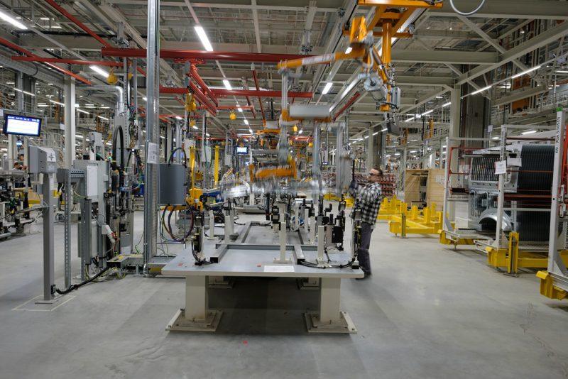 завод цех производство