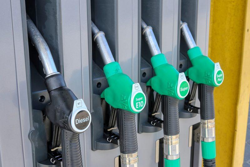 АЗС бензин