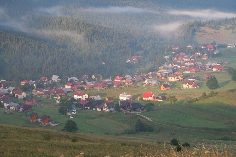 деревня природа словакия
