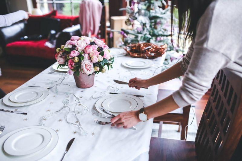 стол ужин