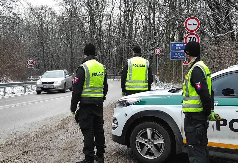 полиция дорога зима