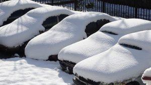 зима машина