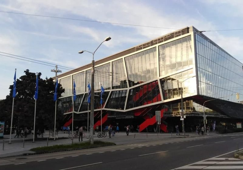 хоккей стадион