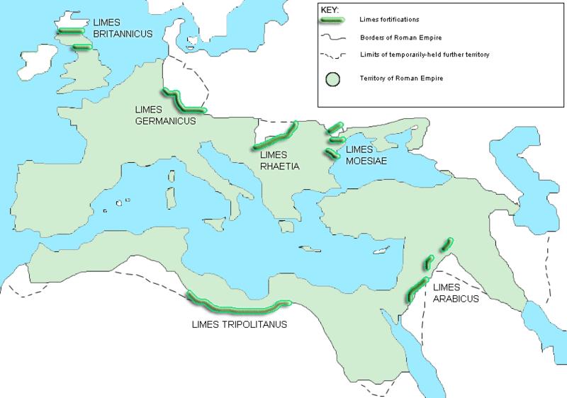римский-лимес-карта