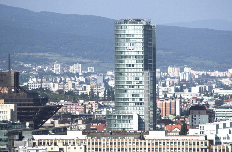 Здание Национального банка Словакии. Фото Wikipedia